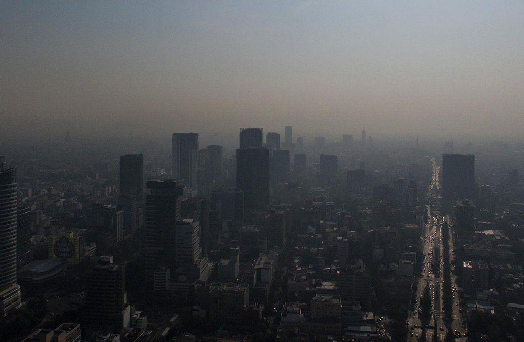 Declaran riesgo extraordinario por contaminación en Ciudad de México
