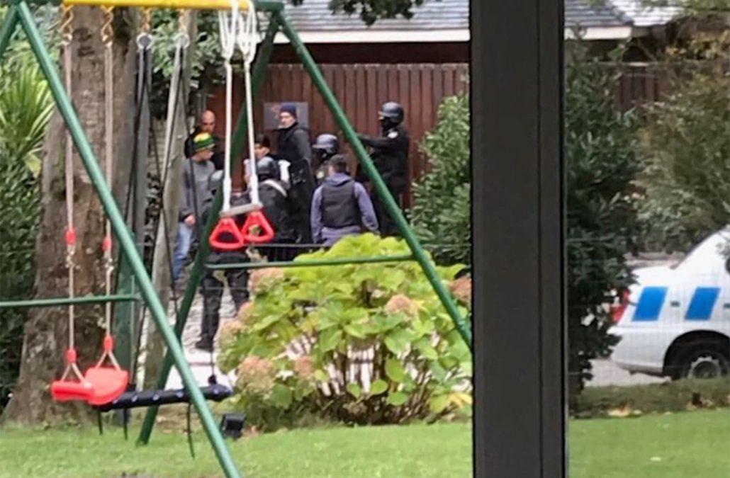 Operativo policial en el hotel de Jardines de Córdoba el sábado 11.