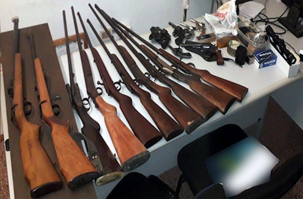 Coleccionista fue víctima de hurto y terminó en prisión porque una de sus armas era robada