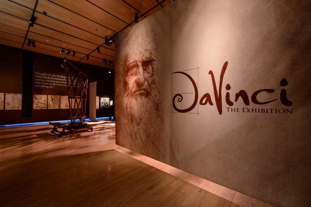 Exhibición sobre la obra de Da Vinci recrea sus grandes inventos