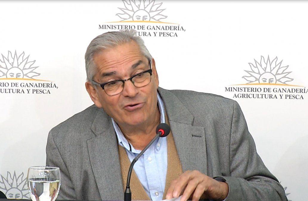 Foto: ministro Enzo Benech.