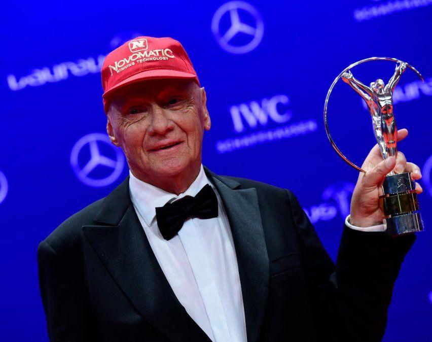 Falleció el ex piloto de Fórmula 1 Niki Lauda
