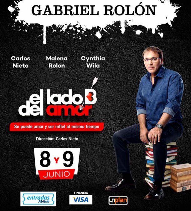 Vuelve Gabriel Rolón al Metro con El Lado B del Amor