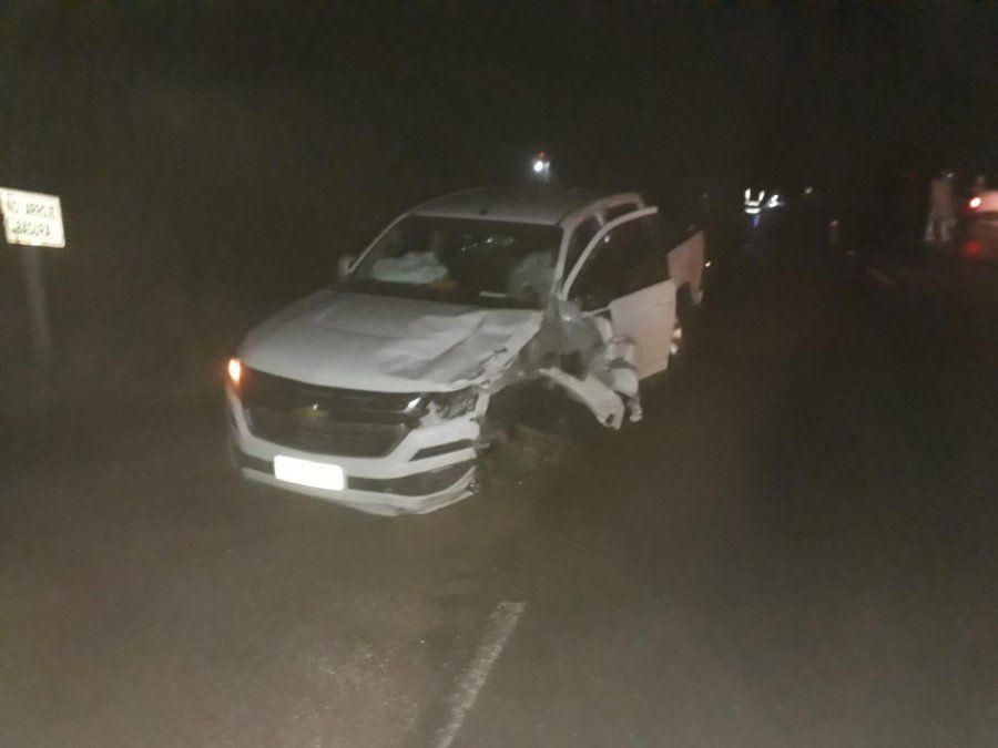 Motociclista murió tras embestir de frente a una camioneta a la salida del Chuy