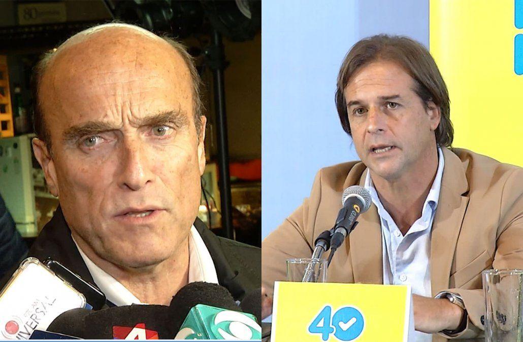 Aumento de impuestos ¿sí o no? El debate que se instala entre Martínez y Lacalle Pou