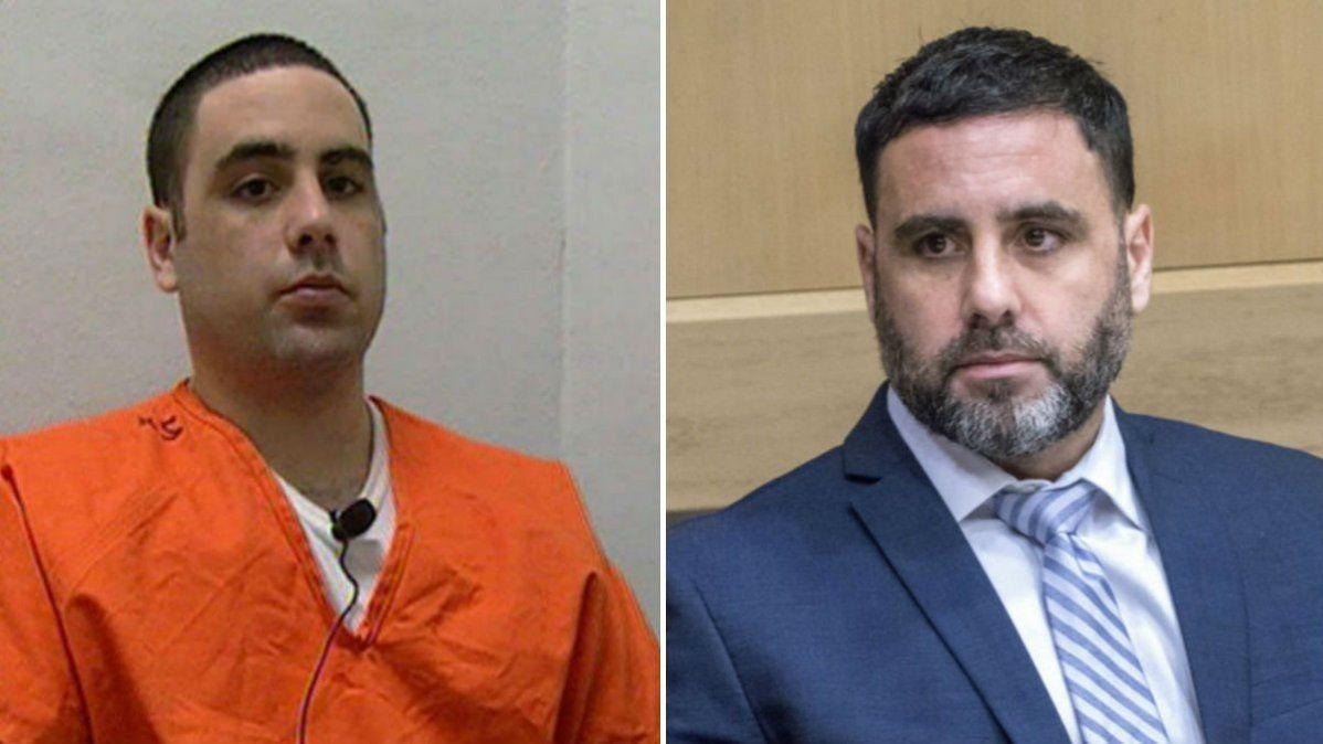Pablo Ibar en 1994 y en 2019. Pasó ya más de la mitad de su vida en la cárcel.
