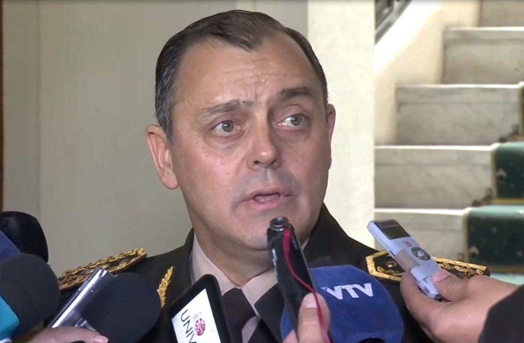 Foto: comandante del Ejército Claudio Feola.