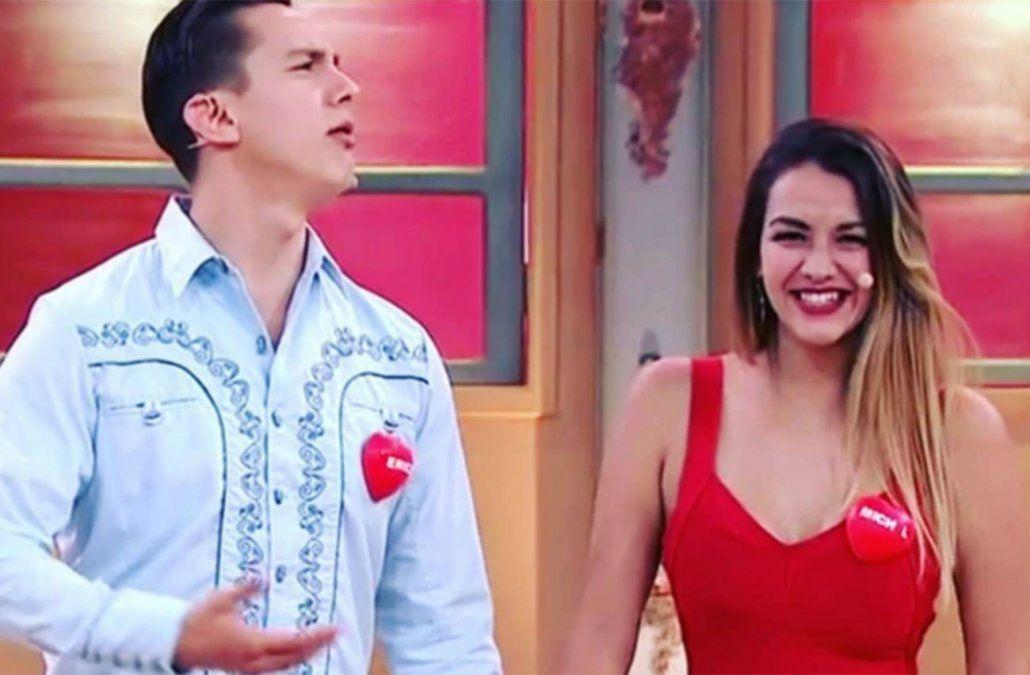 Nataly Michel Rodríguez en el reality de TV Azteca Enamorados