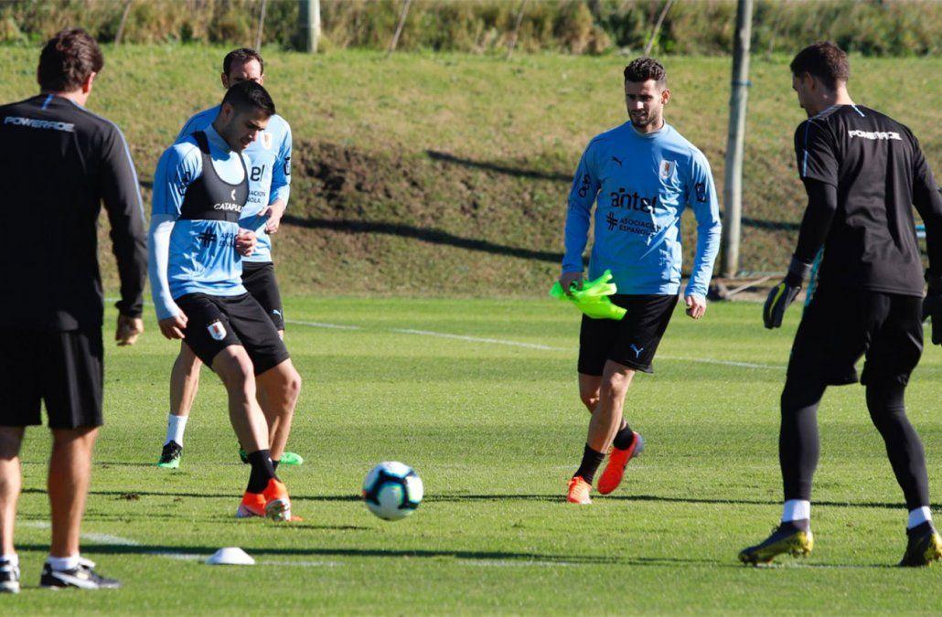 Selección Uruguaya empezó este viernes preparación para la Copa Amèrica