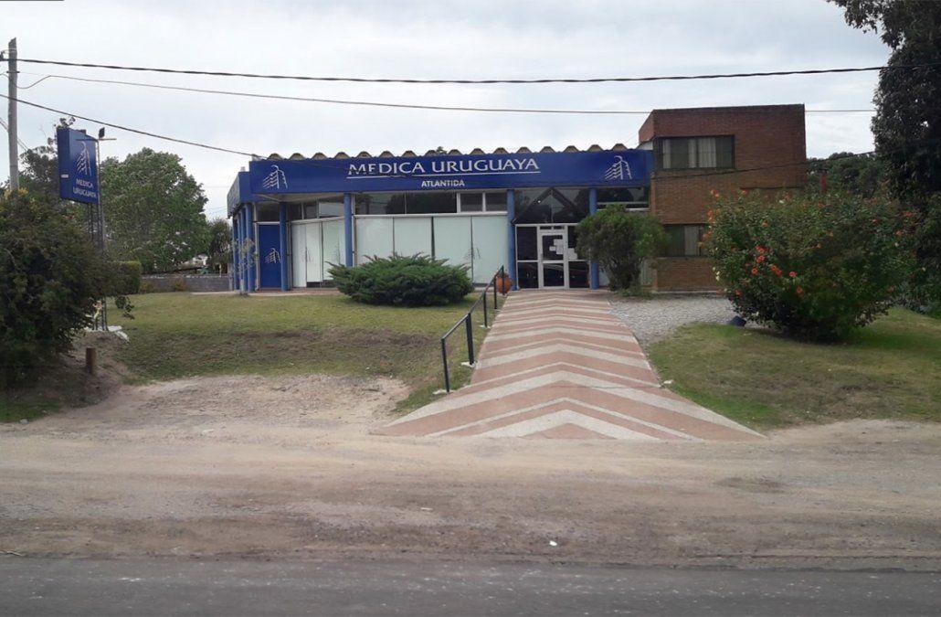 Asaltaron mutualista de Atlántida con 10 funcionarios y 20 pacientes adentro