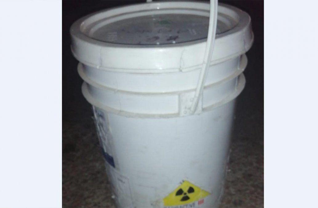 Ministerio del Interior advierte el robo de una tarrina de 3 kilos de plomo con material radioactivo