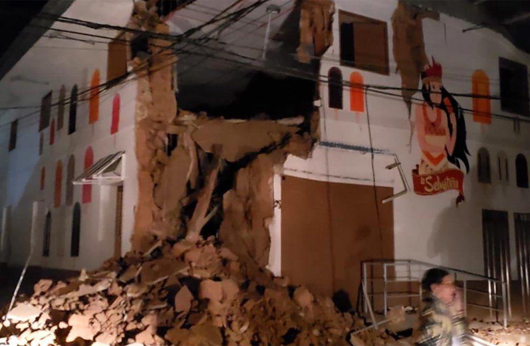Potente sismo en selva norte de Perú deja un muerto y 18 heridos