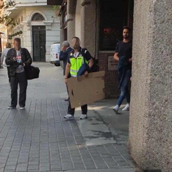Borja Fernández detenido