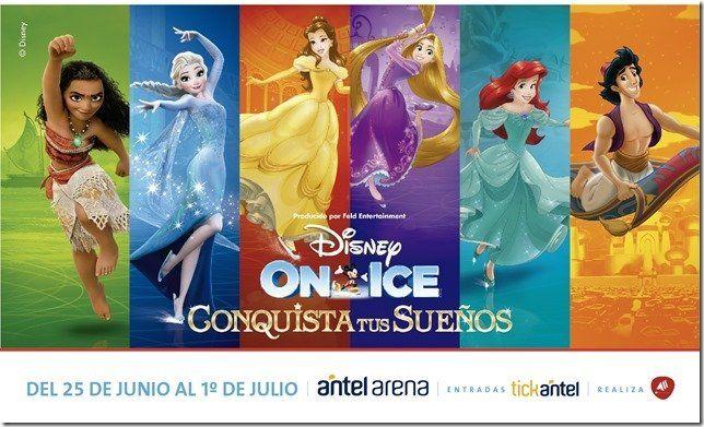 Nuevas funciones de Disney on ice en Antel Arena
