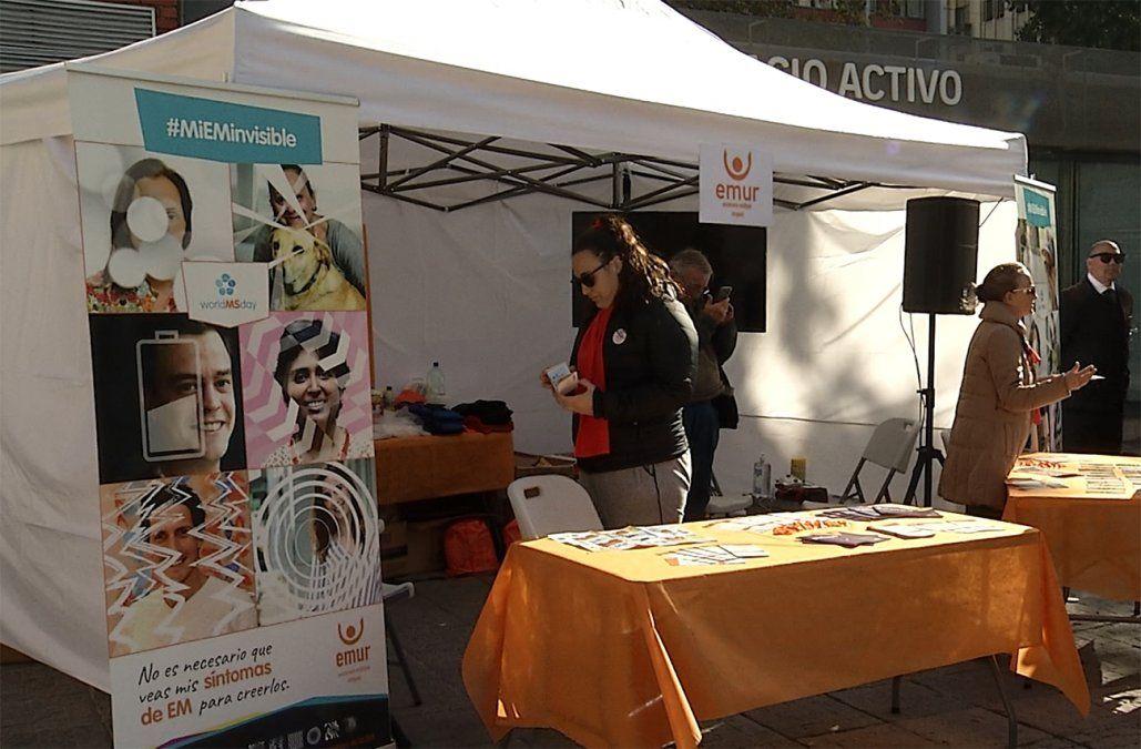 Vivir con esclerosis múltiple: un simulador invita a sentir los síntomas de la enfermedad