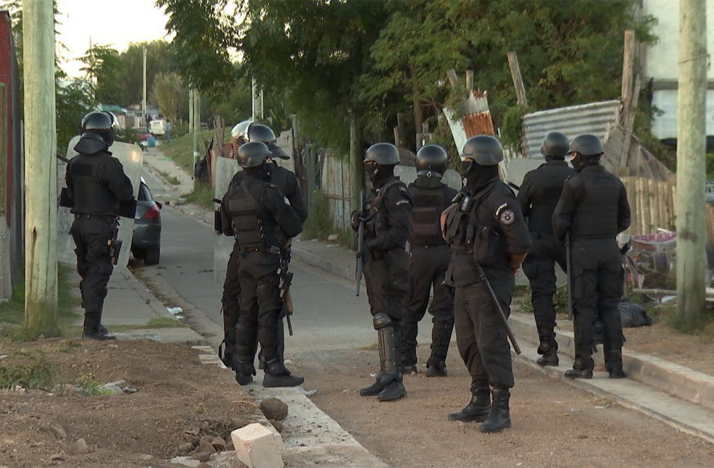 Guardia Republicana desplegó operativo en San Carlos y mañana va por Maldonado Nuevo