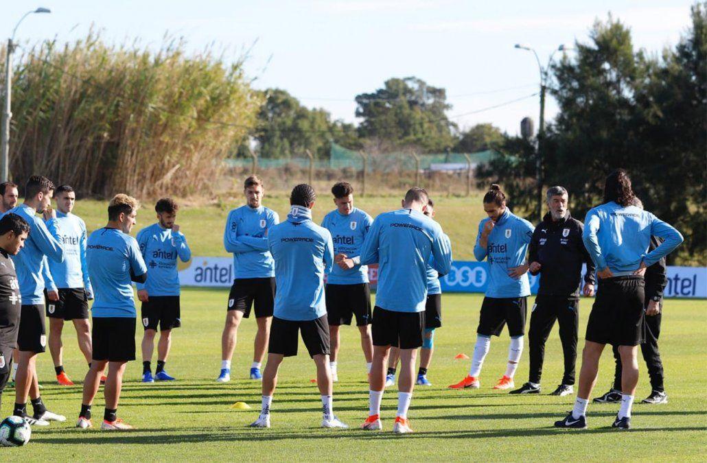 Foto: Selección Uruguaya en Twitter (@Uruguay).