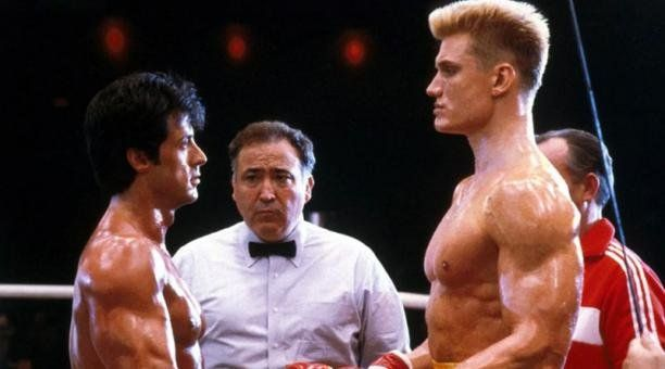 La diferencia física entre Stallone y Lundgren