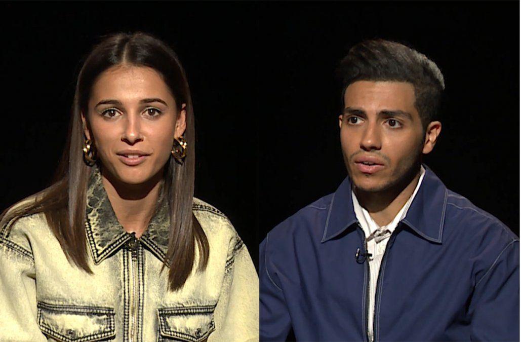 Mena Massoud y Naomi Scott, los protagonistas de Aladdin mano a mano con Jackie Rodríguez Stratta
