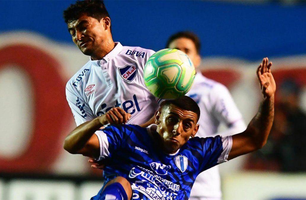 Gonzalo Bergessio marcó el gol y Nacional sumó tres puntos para la Tabla Anual