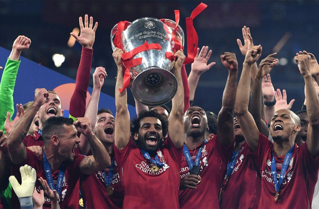 Liverpool ganó su sexta Champions de la mano de Salah, Origi y Jürgen Klopp