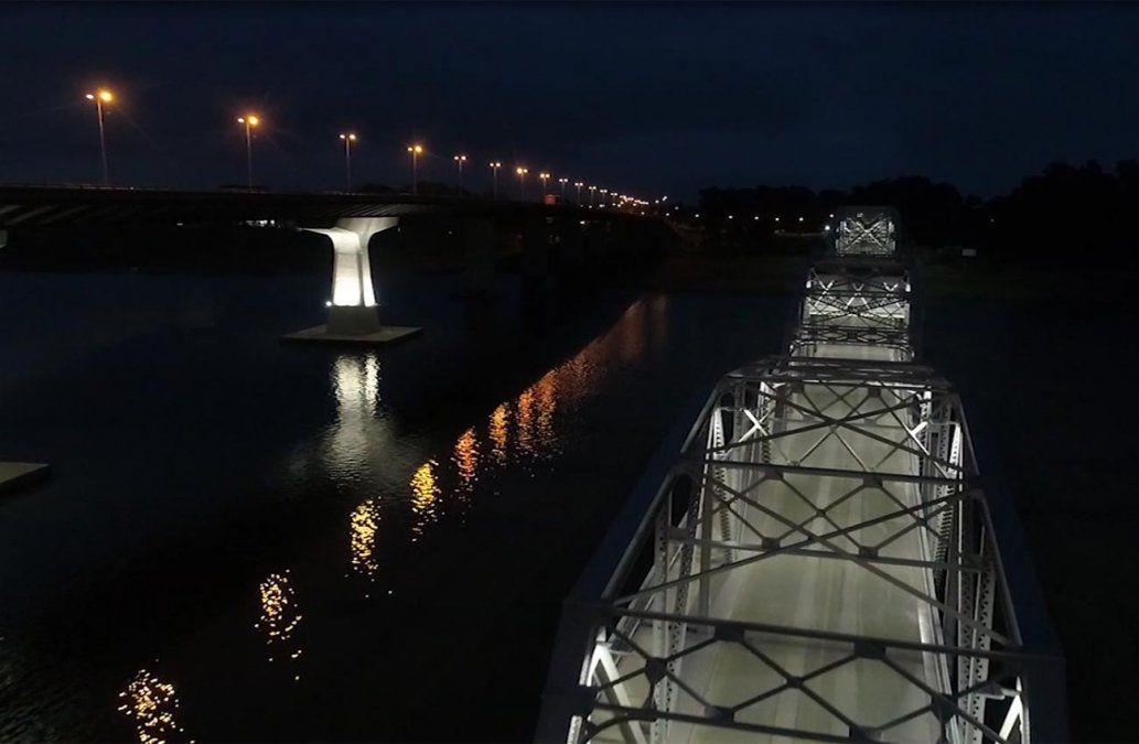 Inauguraron las obras en el viejo puente de Santa Lucía