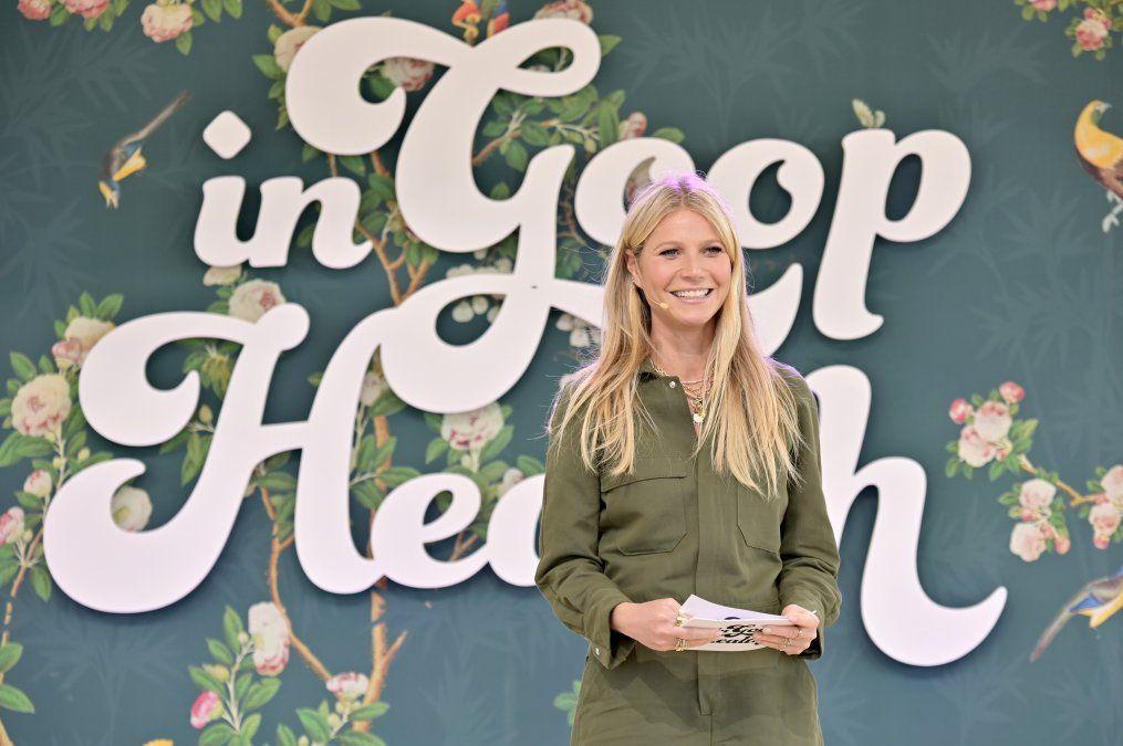 CEO de Goop Gwyneth Paltrow da una charla sobre salud en la Roling Green Nursery