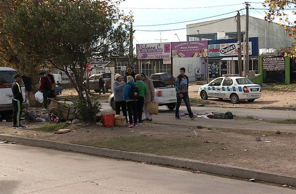 Una feriante de Piedras Blancas está grave tras ser embestida por una camioneta