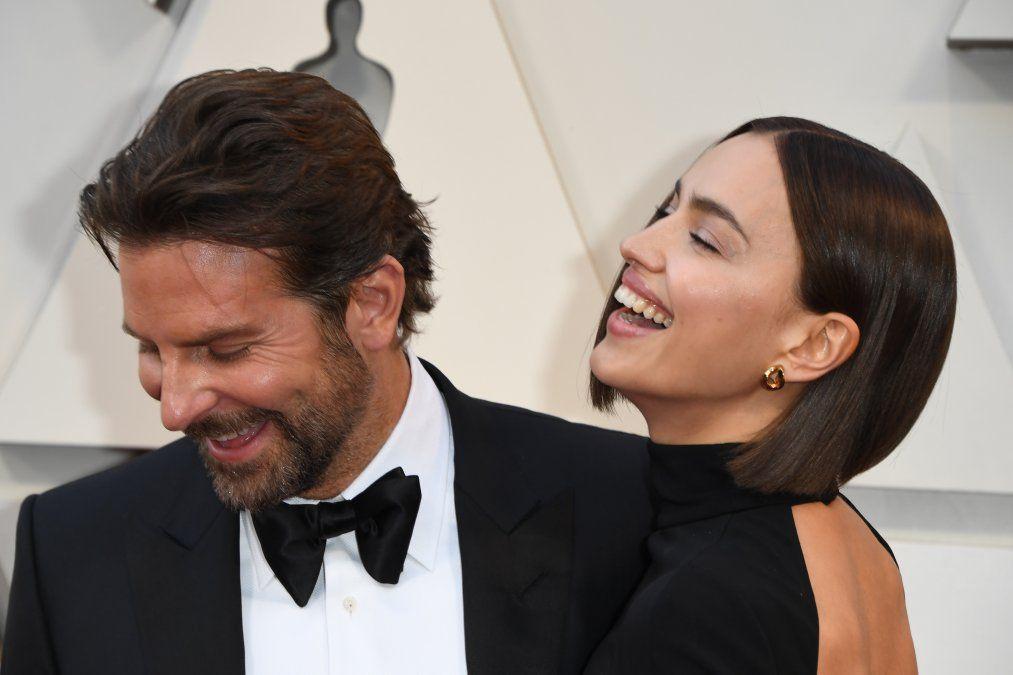 Cooper y Shayk en la ceremonia de los Oscar 2019. La incomodidad de ambos fue notoria