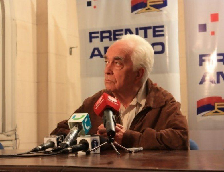 Falleció Jorge Brovetto, ingeniero, presidente del FA y rector de la Universidad