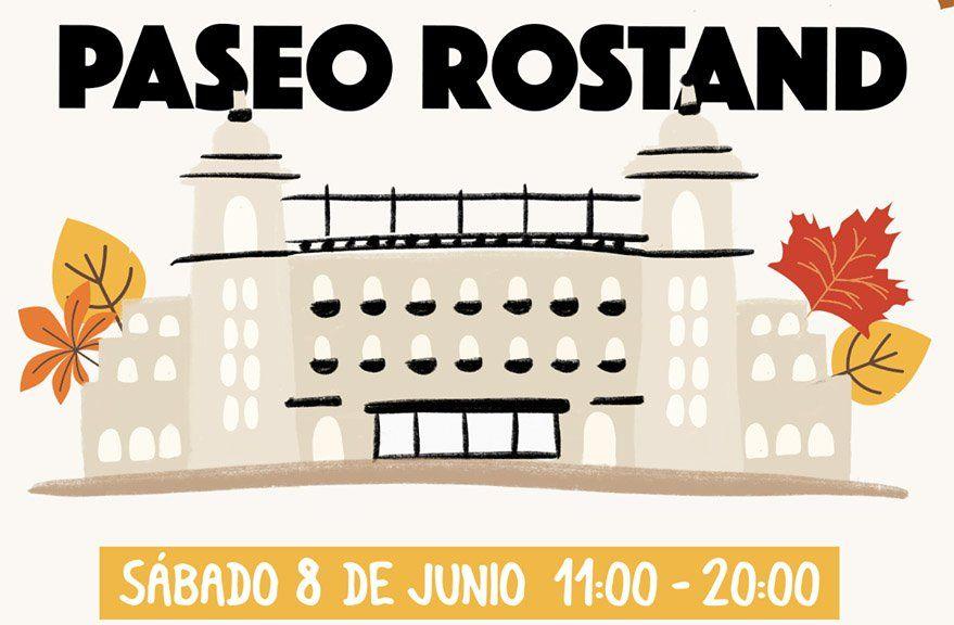 Este sábado se desarrolla una nueva edición de Paseo Rostand