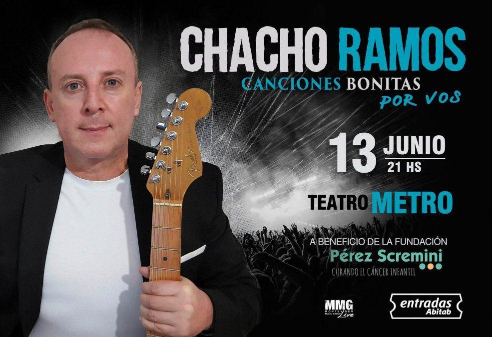 Chacho Ramos realizará un concierto a beneficio de la Fundación Pérez Scremini