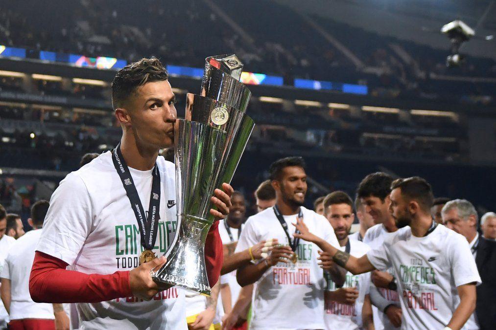 CR 7 volvió a dejar su marca. Ya había sido campeón en la Euro 2016