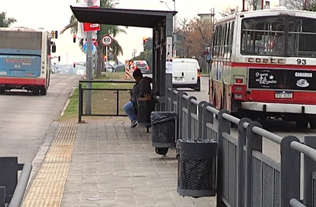Peatón está grave luego de ser atropellado por un ómnibus en General Flores
