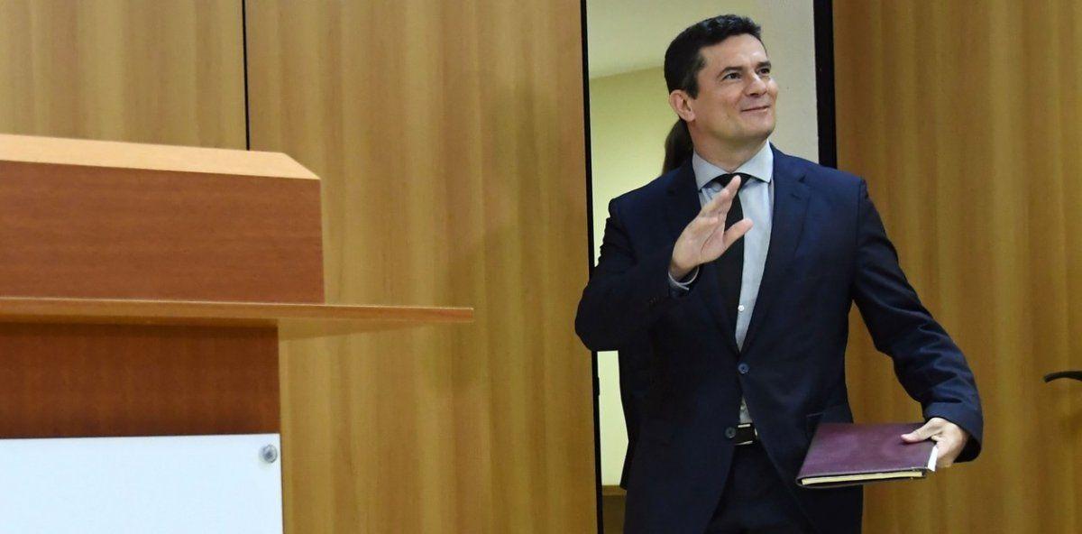 Sérgio Fernando Moro o Cerceta de Maringá es ministro de Justicia en el gobierno de Bolsonaro