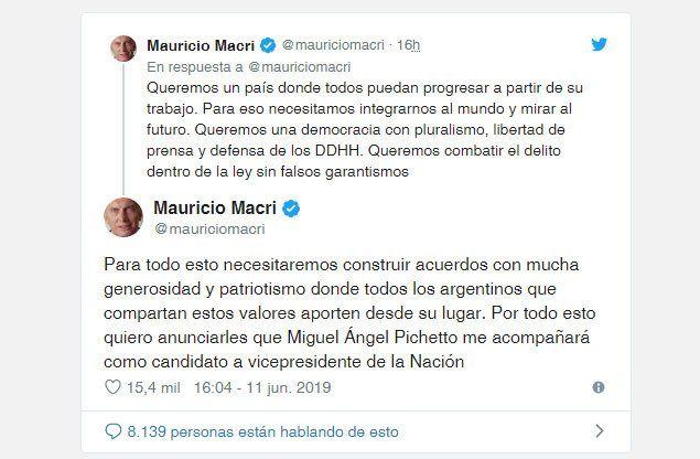 Macri patea el tablero y anuncia fórmula presidencial con jefe del aparato peronista no K