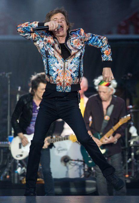 Mick Jagger reinicia su gira con los Rolling Stones el 21 de junio