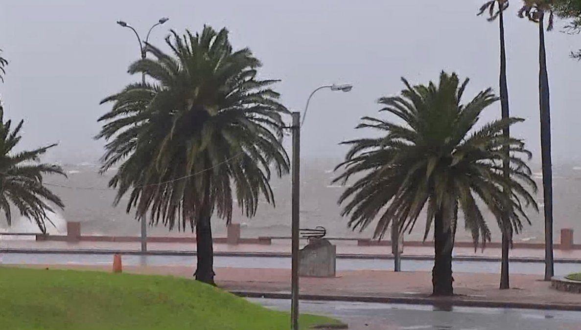 Inumet advierte que continuarán las lluvias en todo el territorio hasta el martes