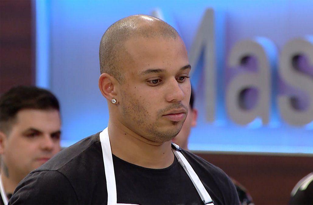 Luis presentó un plato desconcertante y se convirtió en el nuevo eliminado de MasterChef