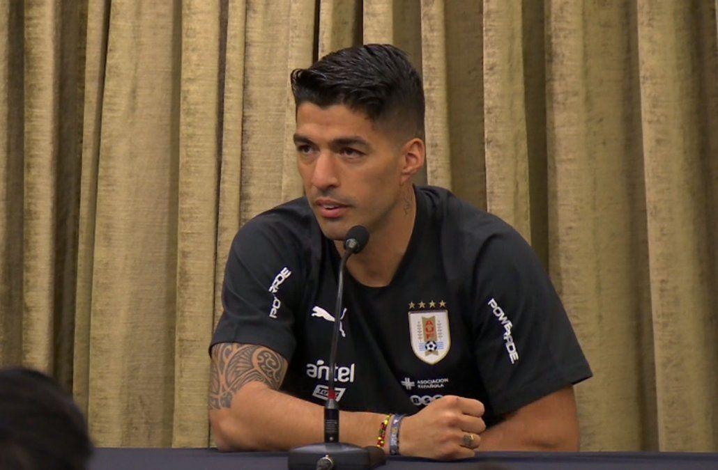 Suárez espera poder jugar todo el partido ante Ecuador, el domingo