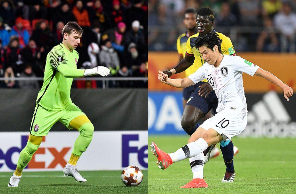 Ucrania y Corea del Sur, finalistas inesperados del Mundial Sub 20