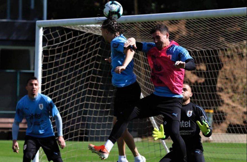 La Celeste realizó su último entrenamiento antes del debut con Ecuador