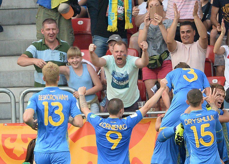 Ucrania se consagró campeón del Mundial Sub20 tras derrotar 3-1 a Corea del Sur