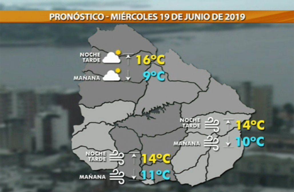 Al menos hasta el miércoles habrá lluvias; se espera baja de temperatura