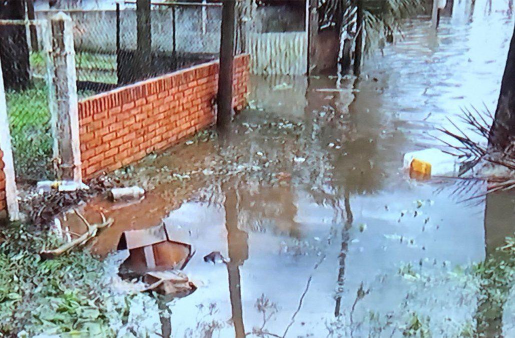 Durazno inundado: las calles Artigas