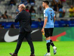 Una mala para el maestro: Matías Vecino se pierde el resto de la Copa por lesión
