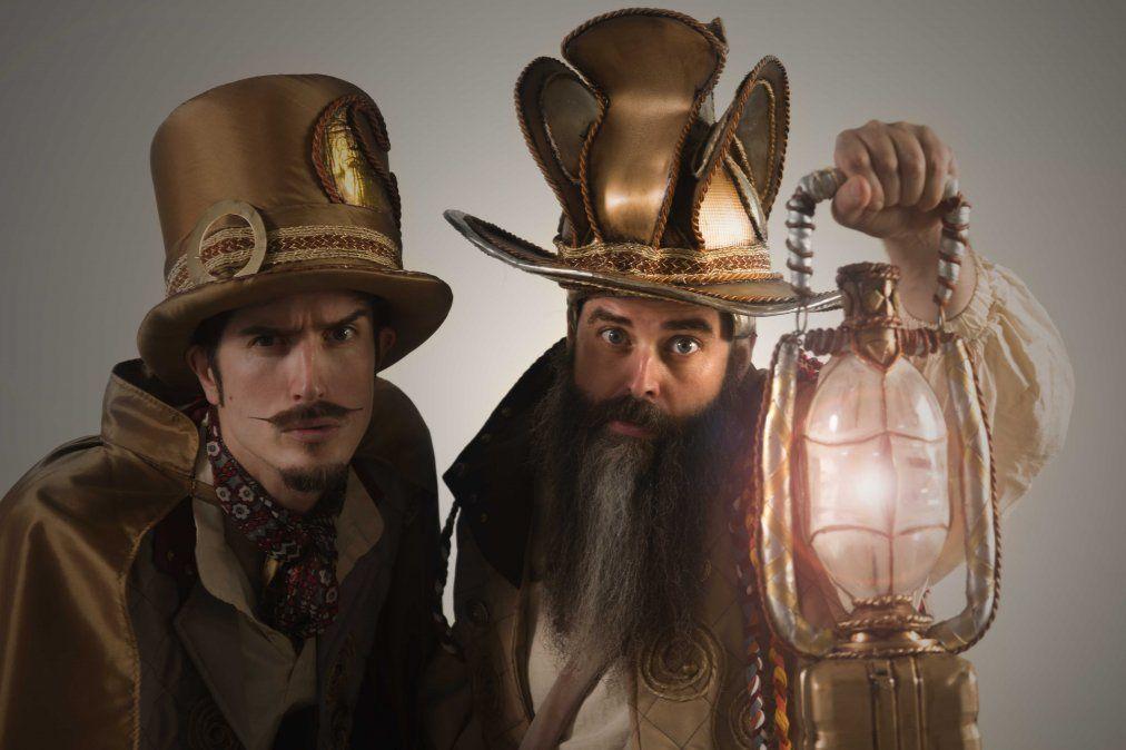 Dúo Hikmah presenta Tristán el Asistente del mago