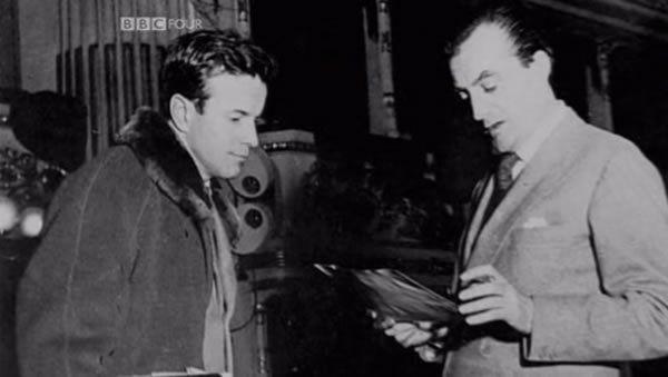 Zeffirelli junto a Lucchino Visconti
