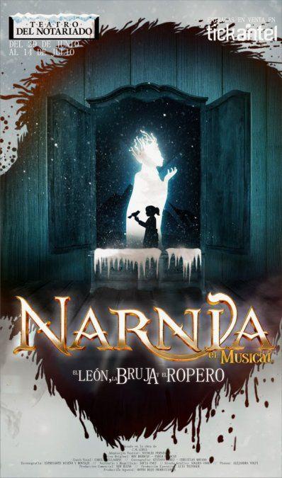 Las crónicas de Narnia: el musical en vacaciones de julio