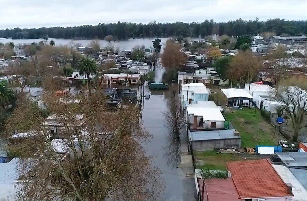 Hay más de 5.000 desplazados por las inundaciones y esperan que sean más de 7.000